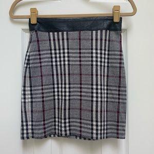 Abercrombie Plaid Mini Skirt XS